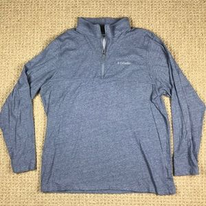 Columbia mens 1/4 zip pullover size XL
